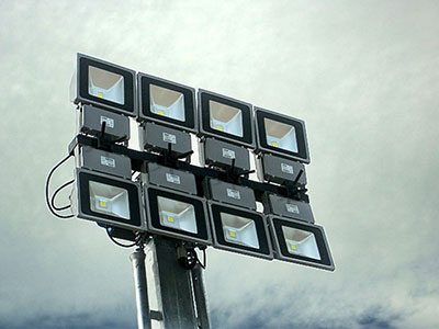 series of LED lights