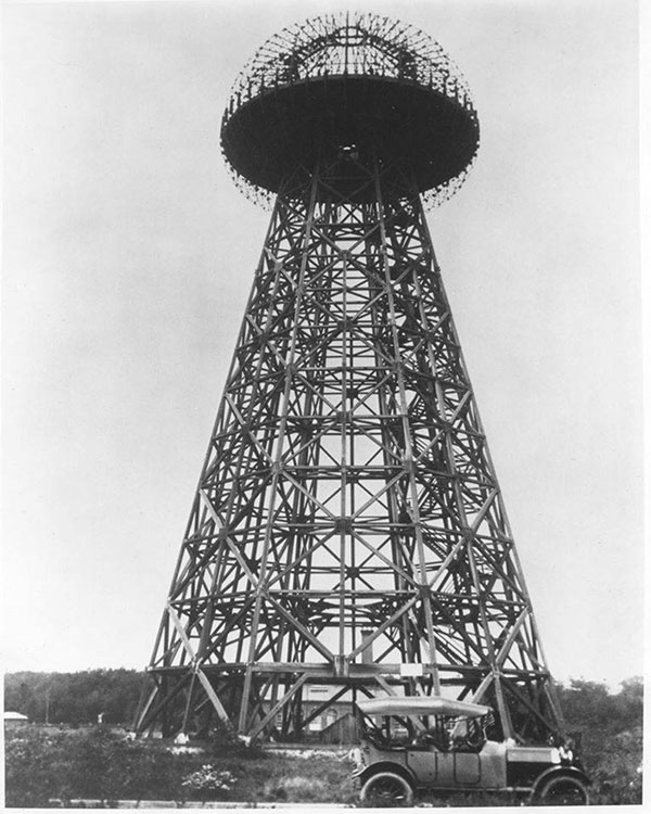 The original Tesla Tower
