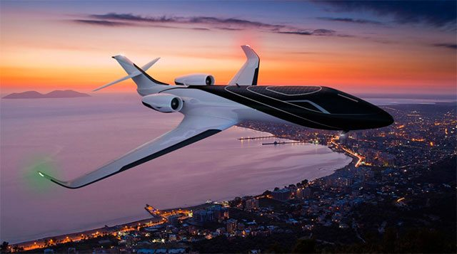 All images of the Ixion Private Jet have been extracted from the Technicon Design website.