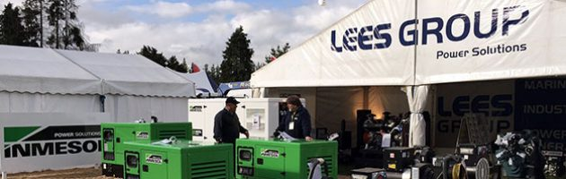 Stand de LEES GROUP Power Solutions en National Agricultural Fieldays