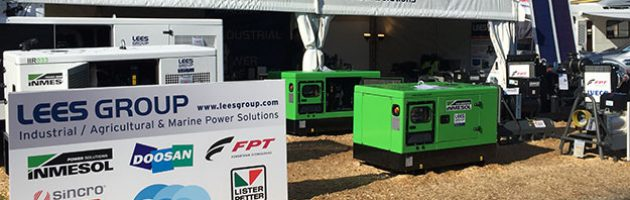 Stand de LEES GROUP Power Solutions en National Agricultural Fieldays 2017