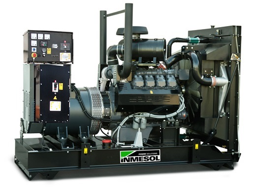 Generator with manual control panel.AD-330 - DEUTZ - BF6M1015C - 1.500 R.P.M. | 50 Hz