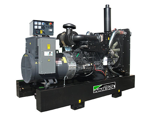 Generator with manual control panel.AI-300 - FPT - C87TE1D - 1.500 R.P.M. | 50 Hz