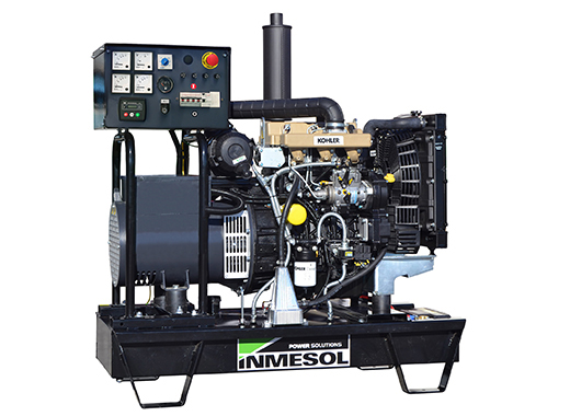 Generator with manual control panel.AK-7 - KOHLER - KDW1003 - 1.500 R.P.M. | 50 Hz