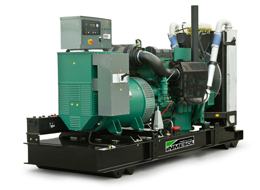 Generator with manual control panel.AV-800 - VOLVO - TWD1645GE(60HZ) - 1.800 R.P.M. | 60 Hz