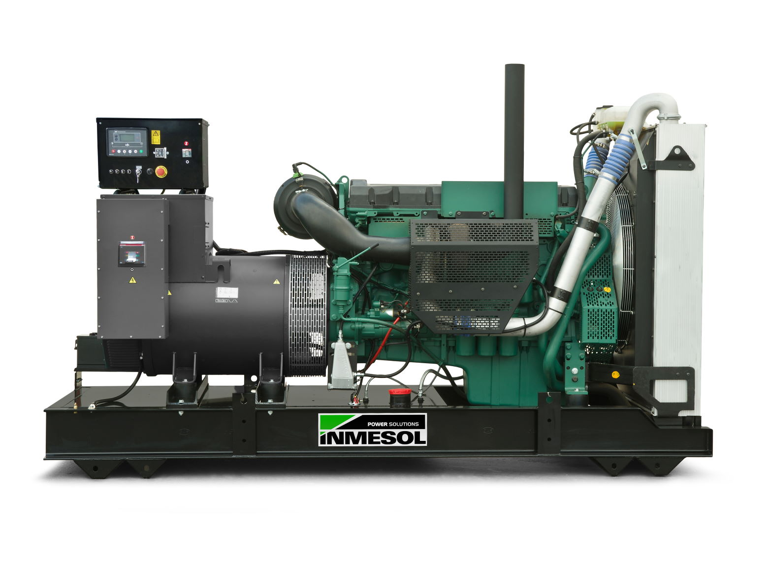 Generator with manual control panel.AV-250 - VOLVO - TAD733GE - 1.800 R.P.M. | 60 Hz