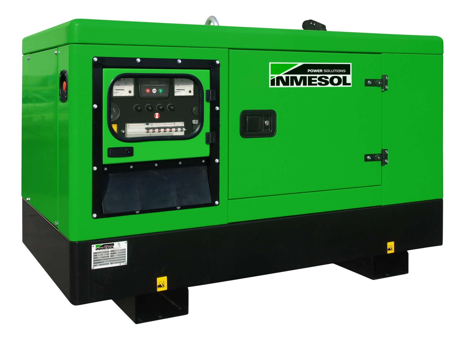 Generator with manual control panel.IL-10 - LOMBARDINI - LDW1404 - 1.500 R.P.M. | 50 Hz