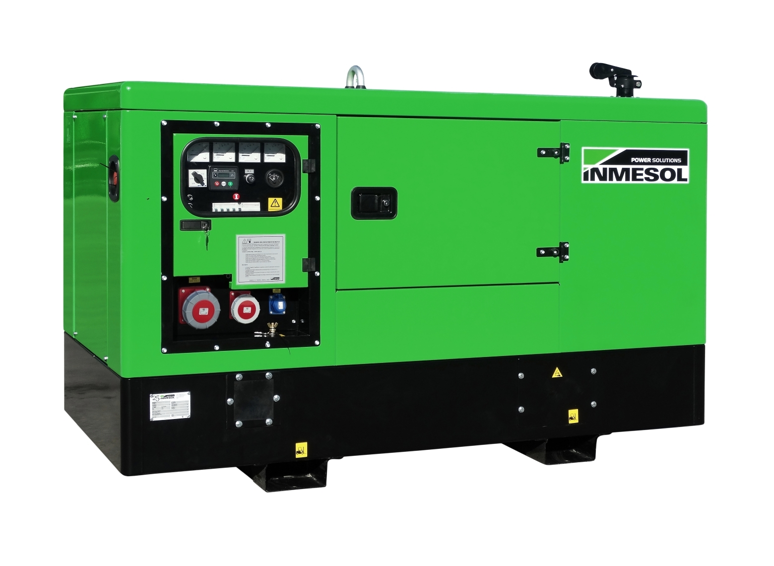 Generator with manual control panel.IK-18 - KOHLER - KDI1903M - 1.500 R.P.M. | 50 Hz