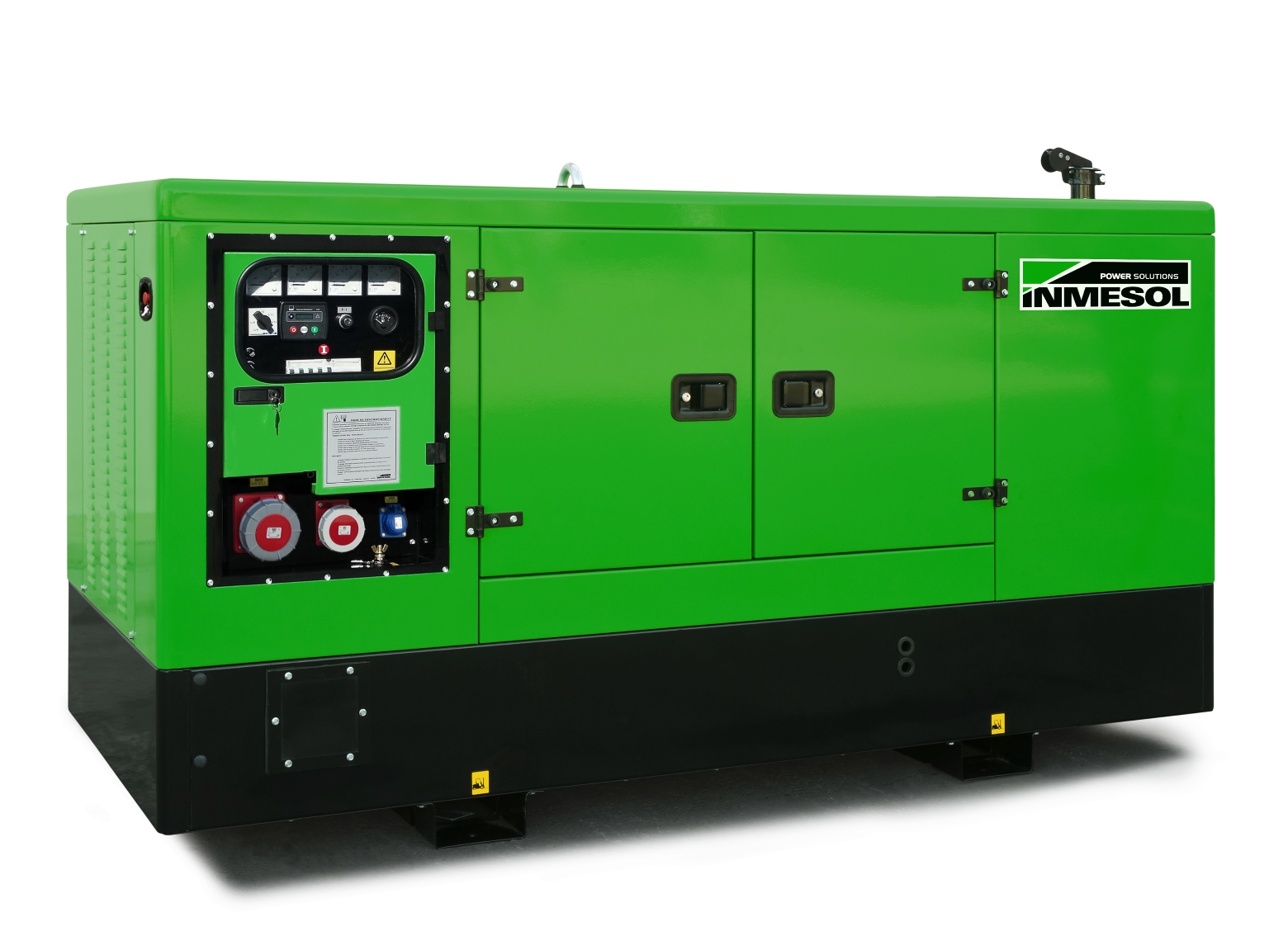 Generator with manual control panel.ID-050 - DEUTZ - BF4M2011(60HZ) - 1.800 R.P.M. | 60 Hz