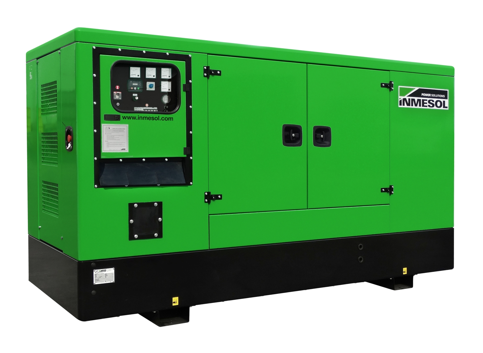 Generator with manual control panel.IP-090 - PERKINS - 1104A-44TG2 - 1.500 R.P.M. | 50 Hz