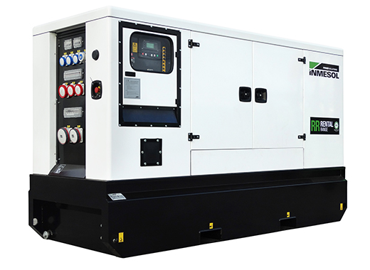 Generator with manual control panel.IVRN-115 - VOLVO - TAD551GE(IIIA) - 1.500 R.P.M. | 50 Hz
