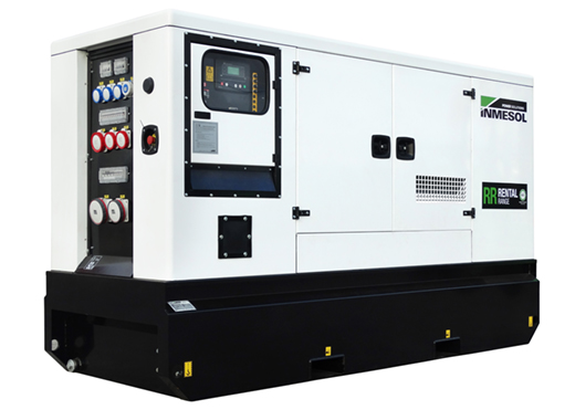 Generator with manual control panel.IVRN-165 - VOLVO - TAD751GE(IIIA) - 1.500 R.P.M. | 50 Hz