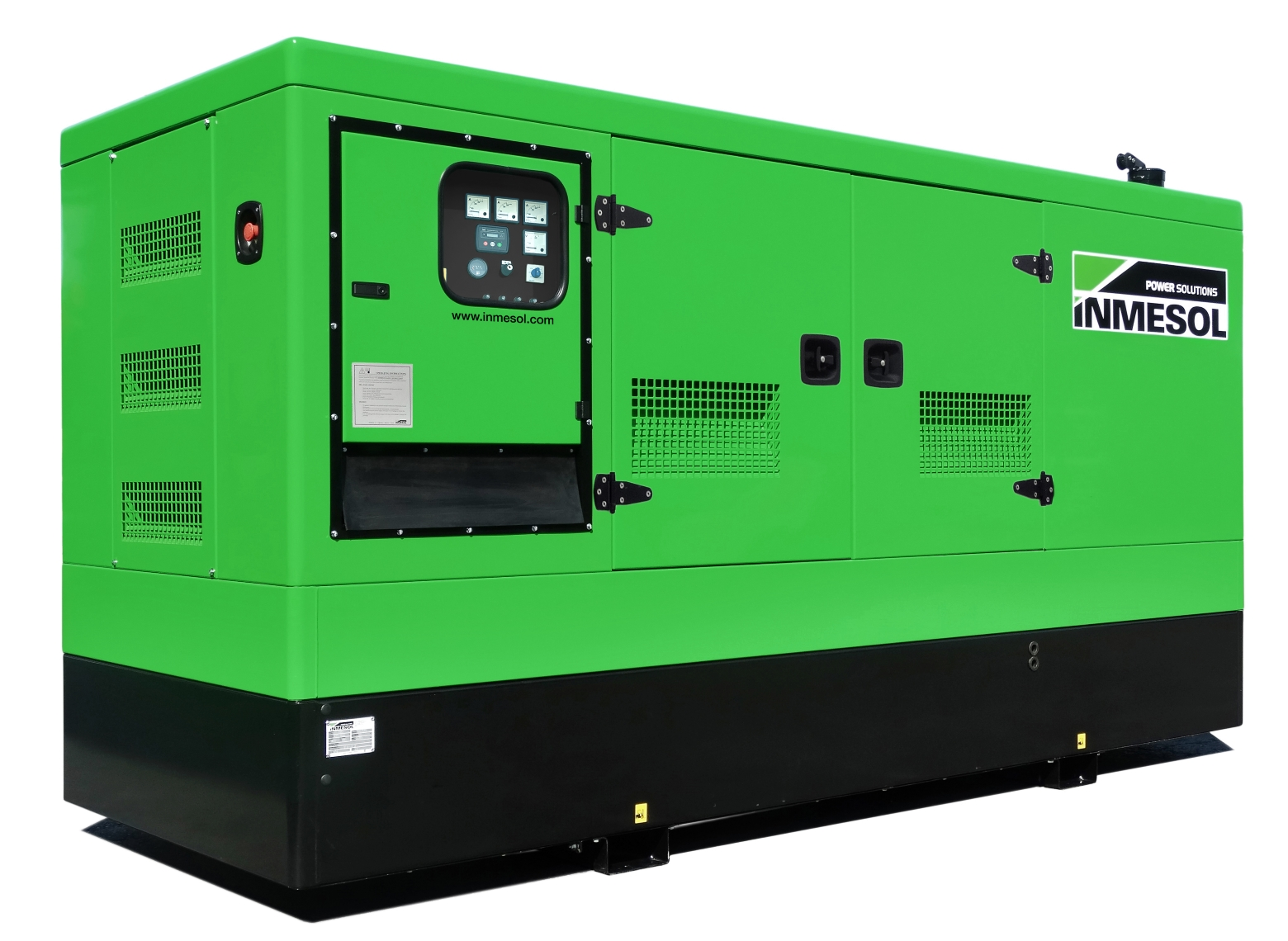 Generator with manual control panel.IV-225 - VOLVO - TAD732GE(60HZ) - 1.800 R.P.M. | 60 Hz