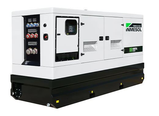Generator with manual control panel.IVRN-275 - VOLVO - TAD754GE(IIIA) - 1.500 R.P.M. | 50 Hz