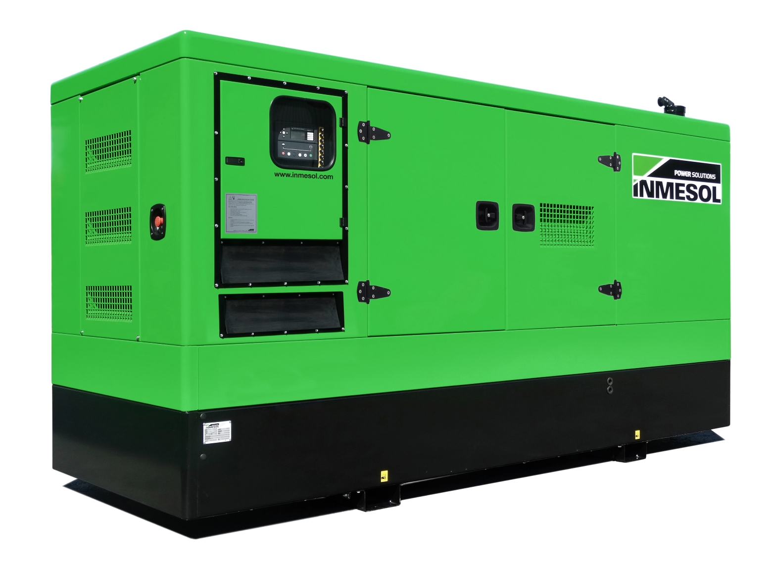 Generator with manual control panel.IV-465 - VOLVO - TAD1343GE(60HZ) - 1.800 R.P.M. | 60 Hz