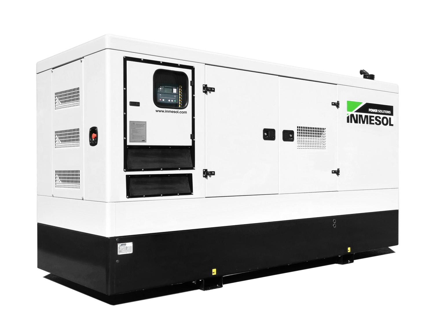 Generator with manual control panel.IV-295 - VOLVO - TAD734GE - 1.800 R.P.M. | 60 Hz