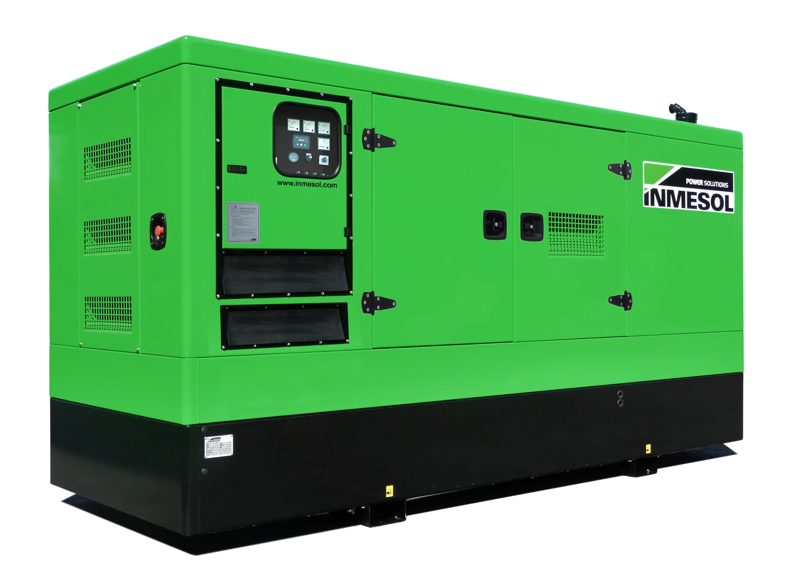 Generator with manual control panel.IV-295 - VOLVO - TAD734GE(60HZ) - 1.800 R.P.M. | 60 Hz