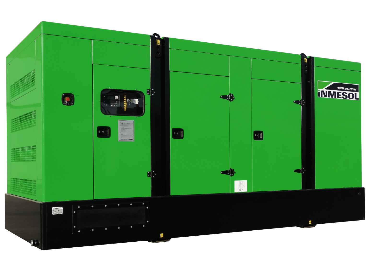 Generator with manual control panel.IV-680 - VOLVO - TWD1643GE - 1.500 R.P.M. | 50 Hz