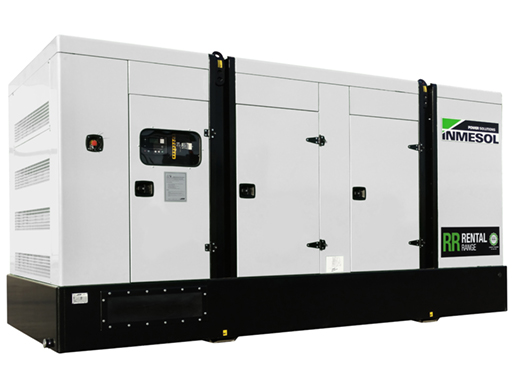 Generator with manual control panel.IVRN-550 - VOLVO - TAD1651GE(IIIA) - 1.500 R.P.M. | 50 Hz